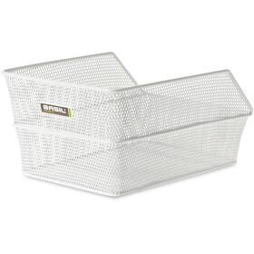 Basil Cento Bag Basket Finmaskig white